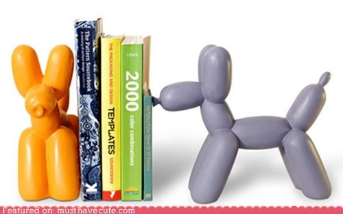 balloon animals bookends decor - 6230828032