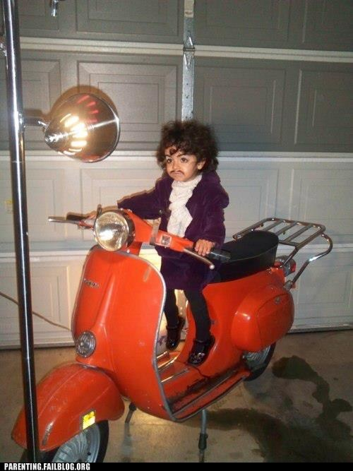 baby,garage,motorcycle,prince