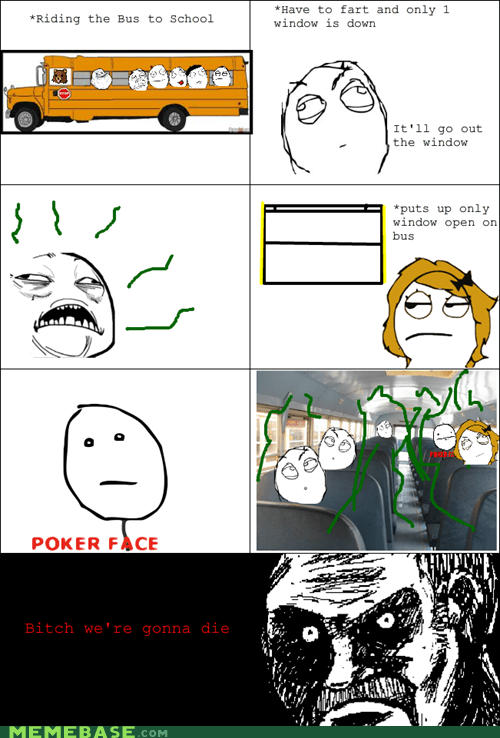 all that racket farts poker face Rage Comics - 6231130368