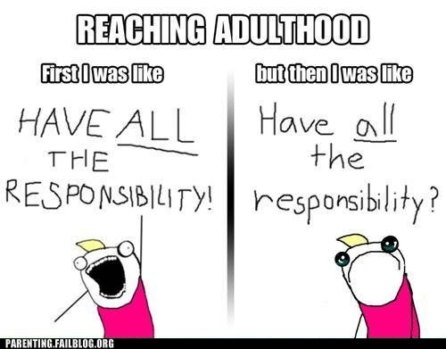 Hall of Fame,have all the,reaching adulthood,responsibility