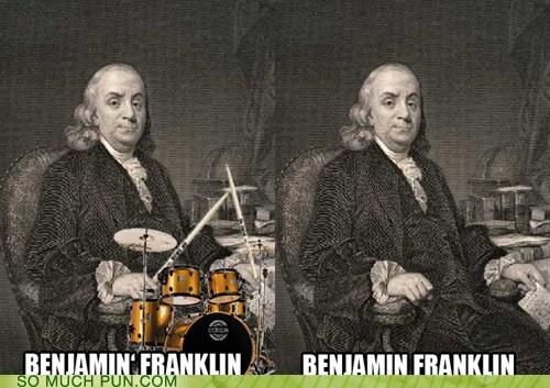 Benjamin,Benjamin Franklin,franklin,jamming,literalism,name,suffix