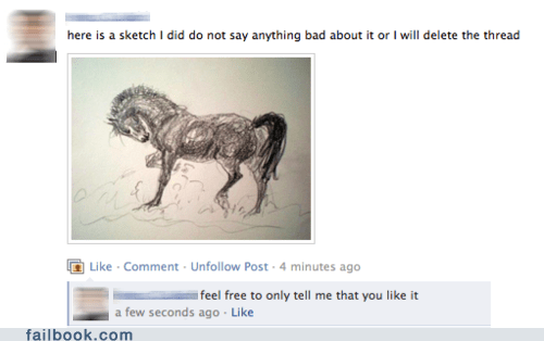 drawing horse sensitive sketch