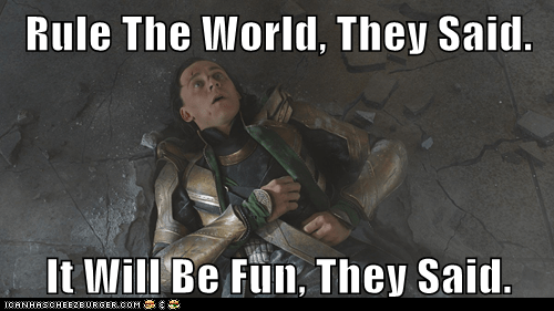 avengers fun loki rule the world smashed They Said tom hiddleston - 6231554560