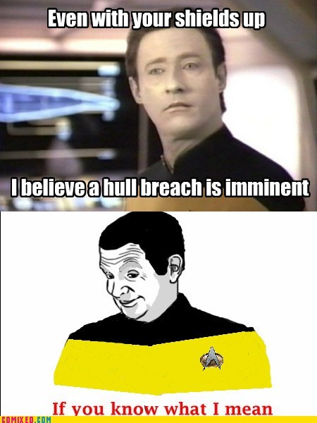 data if you know what i mean Star Trek TV - 6231561984