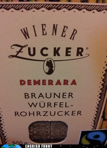 brown sugar demerara german Germany wiener zucker