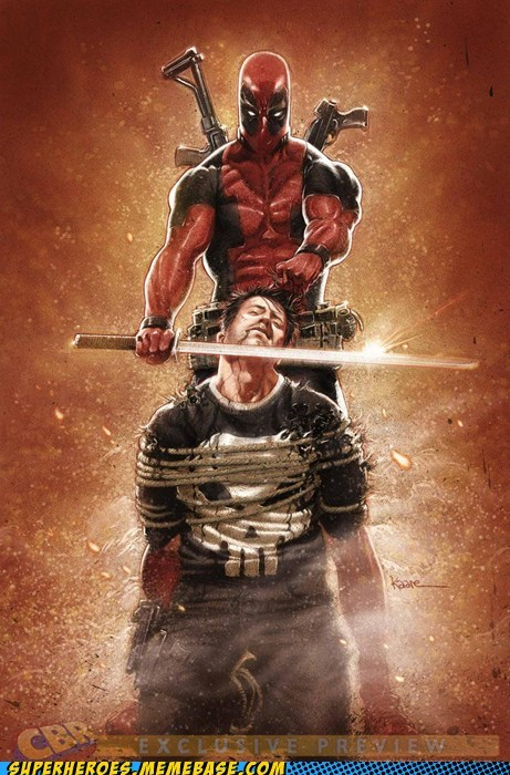 deadpool marvel punisher Straight off the Straight off the Page - 6231953152