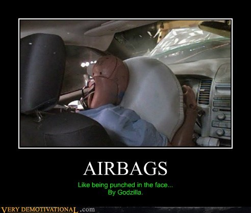 airbags,crash test,hilarious