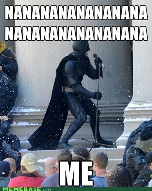 batman self aggrandizing song Super-Lols - 6232969472