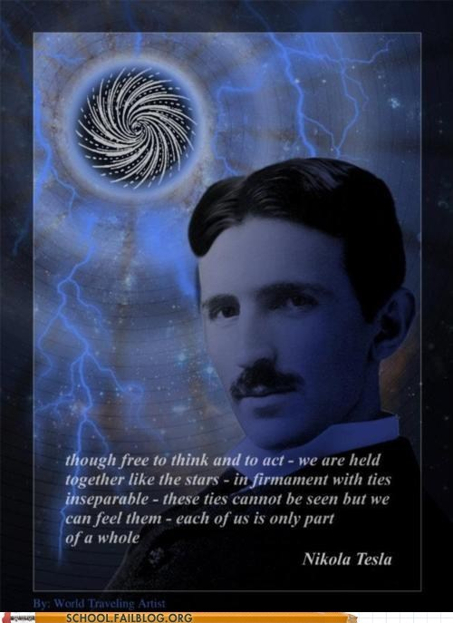 free to think and act tesla Words Of Wisdom - 6233287168
