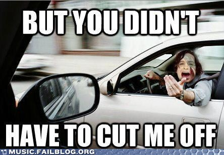 cut me off,driving,g rated,gotye,Music FAILS,pun,someone that i used to kn