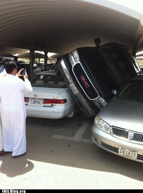 accident car parking lot - 6233436160