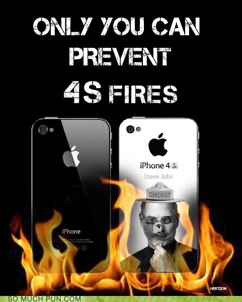 4s forest fires Hall of Fame iphone lolwut model slogan Smokey the Bear