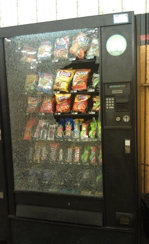 vending machines,snacks