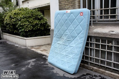 ad blocker,hacked irl,mattress,Street Art