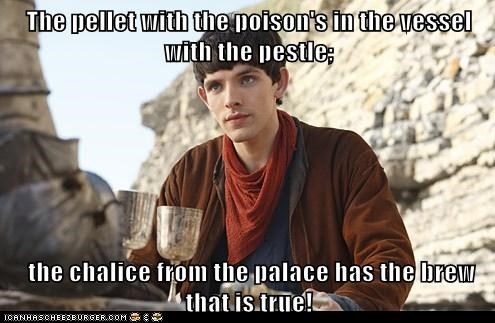 colin morgan,danny kaye,merlin,rhyming,the courth jester,Tongue Twister,vessel with the pestle,wizard