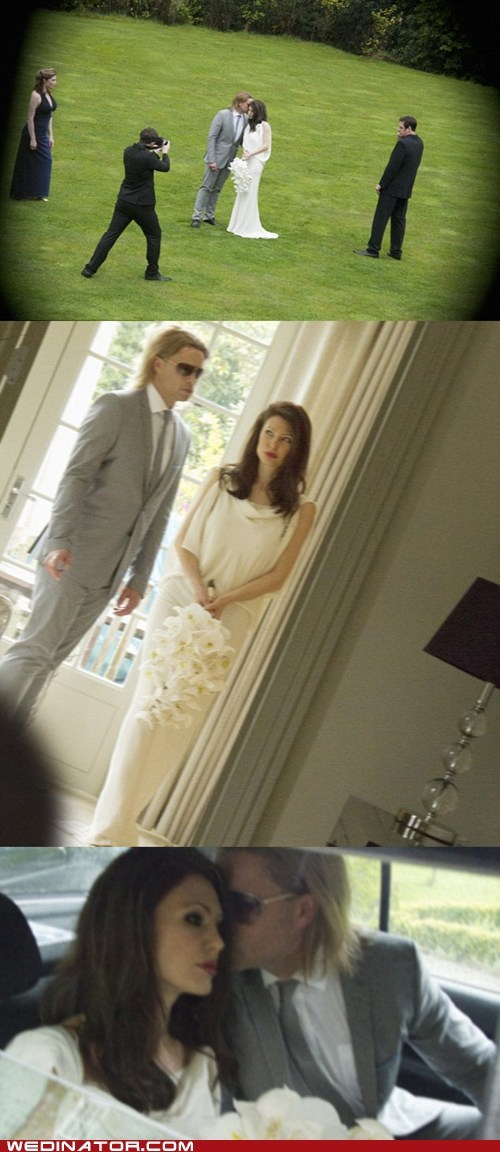 Angelina Jolie brad pitt celeb funny wedding photos - 6233742848