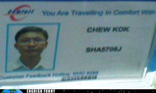 cab,cab driver,chew kok,funny name,taxi,taxi driver