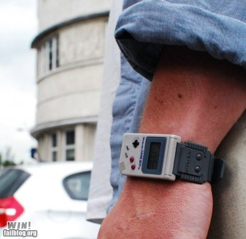 design gameboy nerdgasm nintendo watch - 6233929216