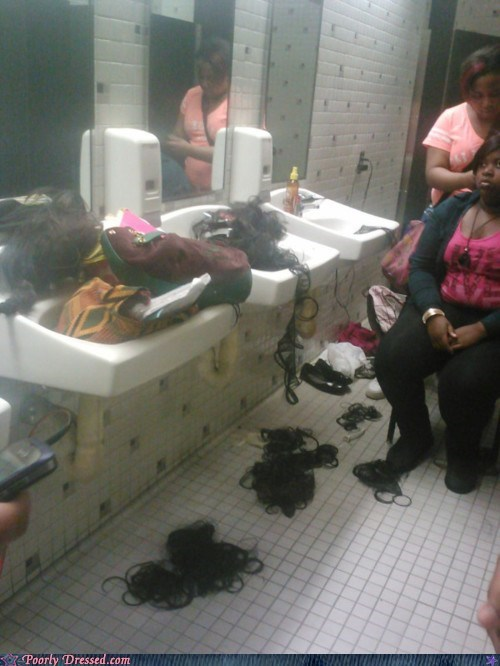 hair,make-over,sink,weave,wig