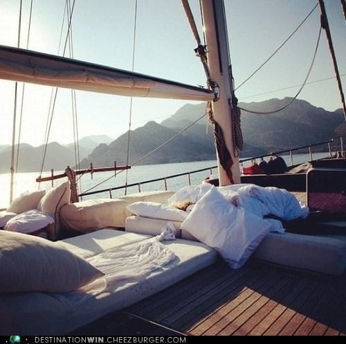 boat comfortable ocean - 6234234880