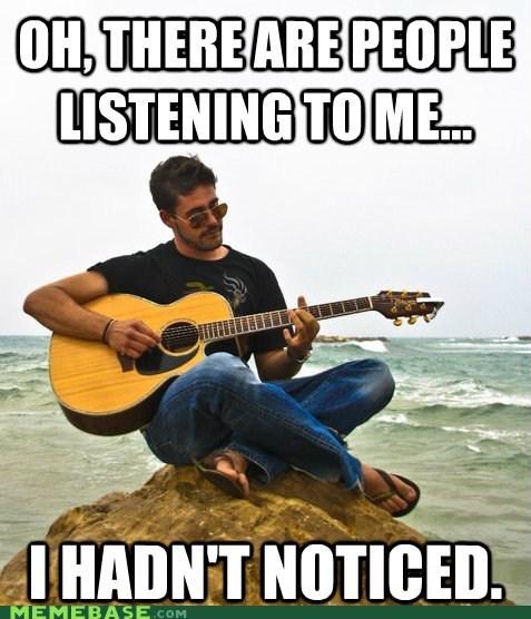 guitar listening Memes - 6234236416