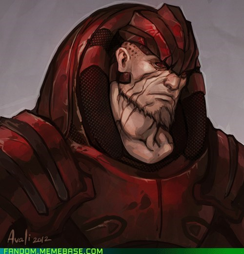 Fan Art mass effect video games wrex - 6234443008