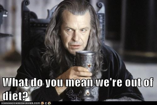 Boromir denethor diet disappointment John Noble Lord of The Ring Lord of the Rings out what do you mean - 6234468352