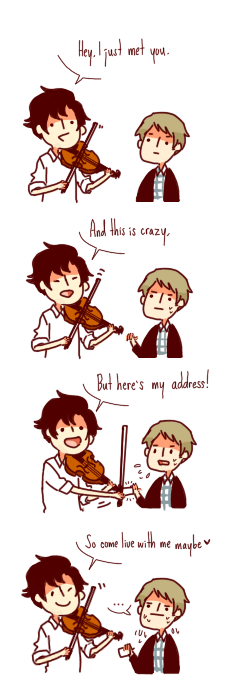 bbc,call me maybe,crossover,Fan Art,Sherlock
