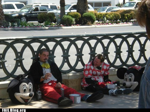 Minnie Mouse FAIL