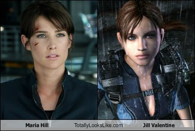 funny Hall of Fame jill valentine maria hill resident evil The Avengers TLL - 6234564352