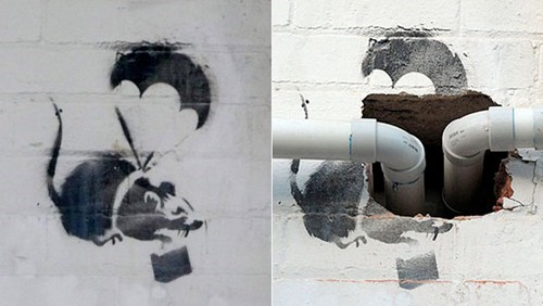 banksy,graffiti,Photo,Street Art,this is all kinds of wron