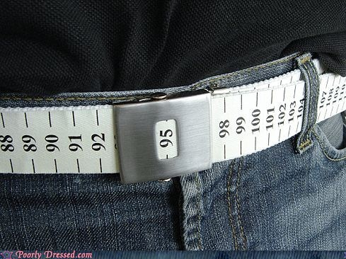 belt diet measuring tape pants - 6234887424