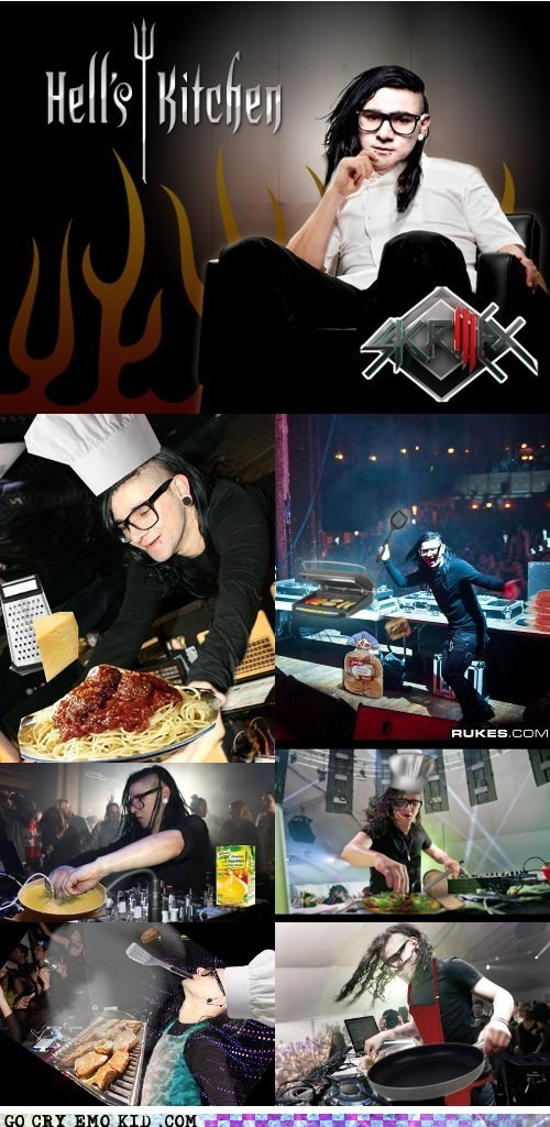 best of week cooking dubstep hells-kitchen photoshop skrillex