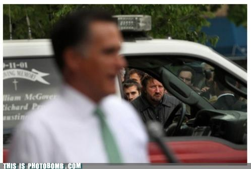 Awkward,car,Mitt Romney,politics,presidential election