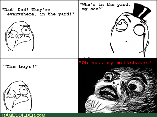 lyrics milkshakes Rage Comics raisin face - 6235275520