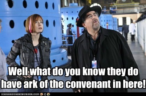 allison scagliotti ark of the covenant artie nielsen claudia donovan impressed saul rubinek top men warehouse warehouse 13 what do you know - 6235325696