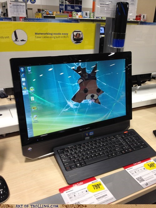 computer desktop wallpaper pedobear shoppers beware - 6235443456