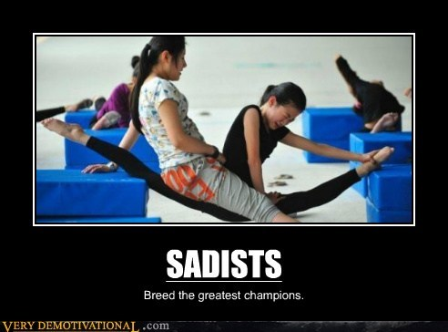 SADISTS Breed the greatest champions.