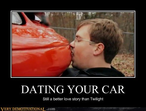 car hilarious kissing twilight wtf - 6236080640