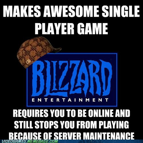 blizzard,diablo,diablo 3,scumbag,single player