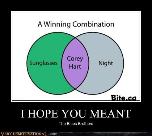 corey hart hilarious night time sunglasses - 6236543488