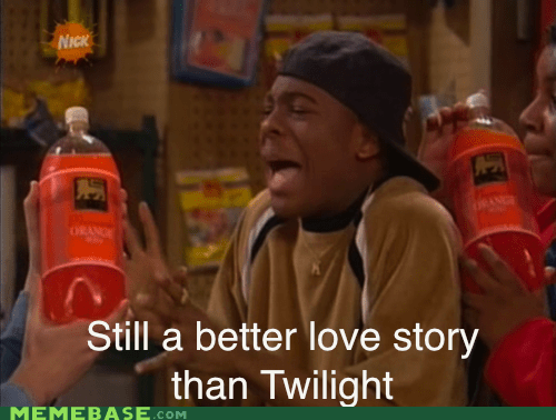 90s kid kel kenan love story Memes orange soda twilight - 6236618496