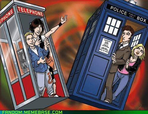 bill-and-teds-excellent,bill-and-teds-excellent-adventure,doctor who,tardis