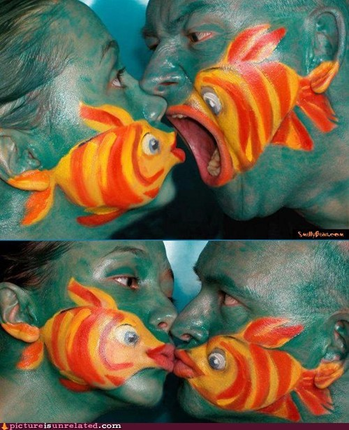 best of week,face,face paint,fishy,half-ass,wtf