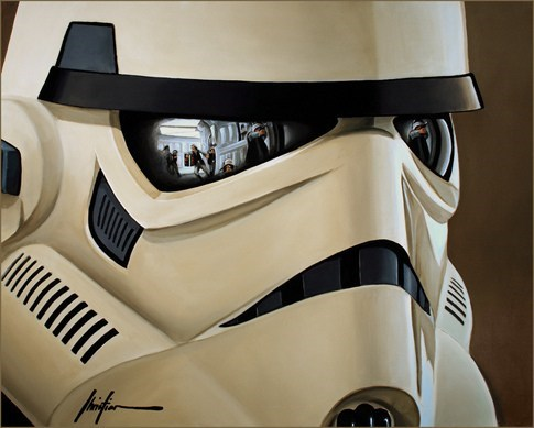 Fan Art scifi star wars stormtrooper - 6236758016
