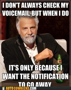 go away message notification voicemail - 6236862720