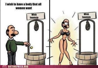 the body women want too literal wishing well - 6236863488
