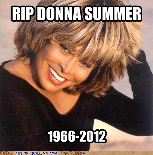 donna summer,gloria gaynor,goodnight sweet prince,rip,tina turner