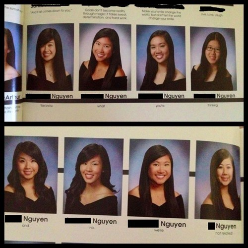 IRL last name nguyen quote related yearbook - 6236927488