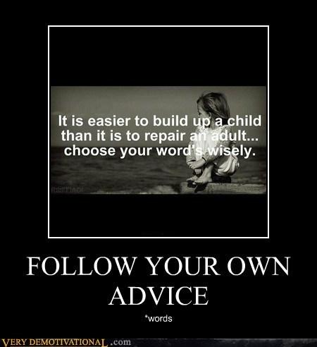advice choose your words idiots typo - 6237015296